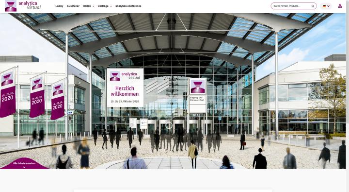 Mehr als 21.600 Teilnehmer informierten sich auf der analytica virtual.