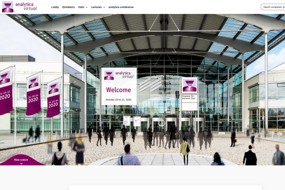 More than 21,600 participants attended analytica virtual.