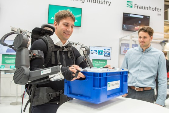 Fraunhofer at automatica