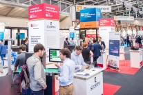 Booths at automatica