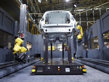 Roboter in Automobilindustrie