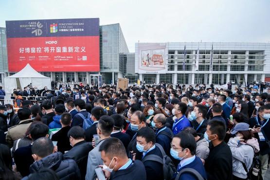 Trotz Corona und Reisebeschränkungen kamen in diesem Jahr 48.000 Besucher zur BAU China 2020.