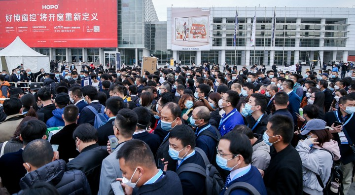 Despite corona and travel restrictions, 48,000 visitors came to BAU China 2020 this year.