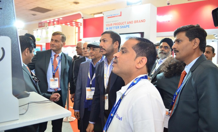 Visitors at drinktechnology India