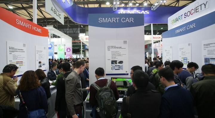 Vistors at electronica china
