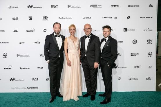 Marco Voigt, Alexia Osswald, Klaus Dittrich und Sven Krüger