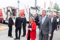 German Federal Environmental Minister Svenja Schulze and Bavarian Minister of State Dr. Marcel Huber