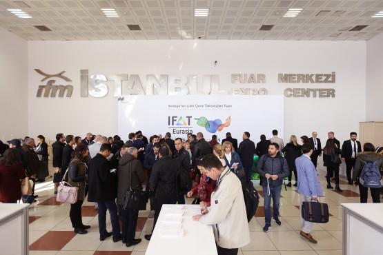 Besucher IFAT Eurasia