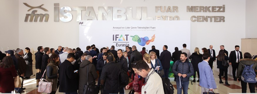 Visitors at IFAT Eurasia