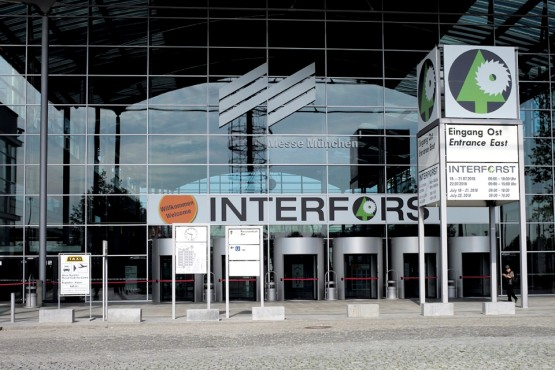 Entrance of INTERFORST