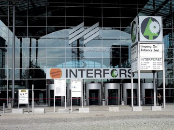 Entrance of INTERFORST