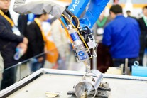 Leading manufacturers showcased the latest advances for smart manufacturing, which combines the laser, automation and machine vision technologies