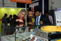 Exhibitors and Visitors at LASER World of PHOTONICS INDIA