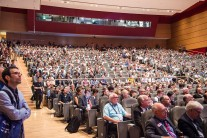 Volle Ränge bei der Eröffnung der LASER World of PHOTONICS und des Photonics Congress im ICM – Internationales Congress Center München.