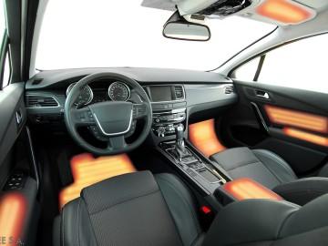 Interior heating concept