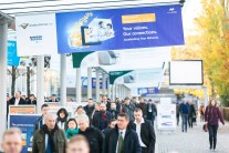 Visitors at productronica