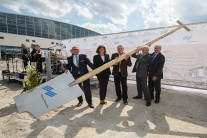 The groundbreaking ceremony for the completion of the Munich Exhibition Center has been set