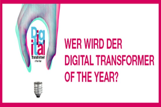 Key Visual: Wer wird der Digital Transformer of the Year?