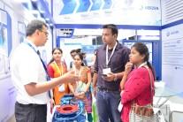 Visitors and exhibitors at IFAT India