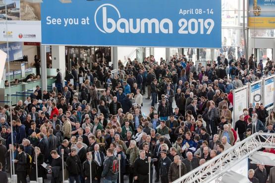 See you at bauma 2019