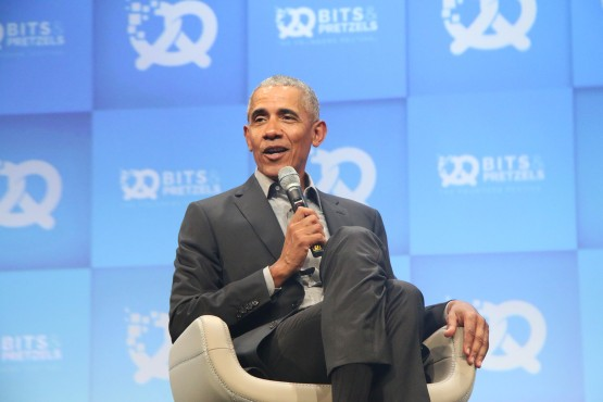 Friedensnobelpreisträger und ehemaliger US-Präsident Barack Obama