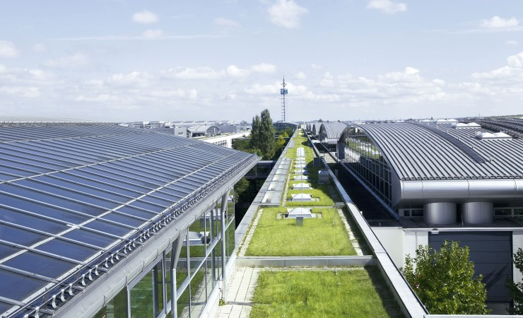 Messe München changes over completely to green power