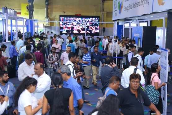 Trade fair visitors