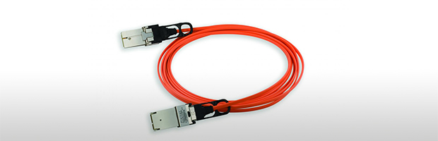 Finisar's C.wire® AOC is a 120/150 Gb/s parallel active optical cable