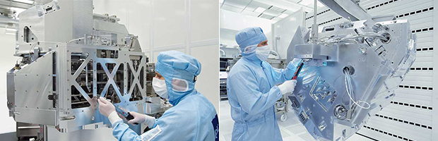 The Starlith® EUV Optics System by ZEISS is the first EUV-powered lithography optics system in the world to go into mass production.