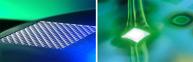 structures, created by picosecond laser radiation, find increasing application in automotive interiors / Increasing productivity is currently the biggest issue with USP lasers