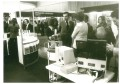 Crowded aisles at analytica 1974