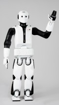The REEM biped robot from PAL Robotics