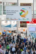 The crowded Entrance West during IFAT 2016<br><br>