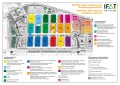 IFAT trade fair venue map: clear division of themes