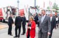 High-ranking visitors: German Federal Environmental Minister Svenja Schulze and Bavarian Minister of State Dr. Marcel Huber on their tour of the fair