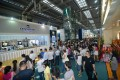 Besucher auf der China Watch & Clock Fair