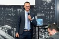 Oliver Retz (UPS) am Dienstag 6. November 2018 bei der INHORGENTA TRENDFACTORY in der Clouds Bar im Primetower in Zuerich
