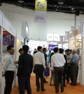 Exhibition hall at LASER World of PHOTONICS INDIA 2015