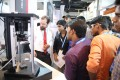 Exhibitor interaction at LASER World of PHOTONICS INDIA 2015
