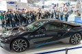 Special show &ldquo;Photonics Applications in the automotive sector&rdquo;<br>Hall A3.533<br>BMW i8 is the first vehicle equipped with the completely new light technology, the laser light.<br>Involved Companies: Jenoptik, Kuka, Newport Spectra-Physics,Limo