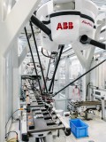 The Flexpicker from ABB: Highspeed-Picking at electronics production<br><br>Picture: ABB