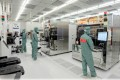 The 300 mm clean room of the Fraunhofer-CNT in Dresden-Klotzsche