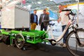 Cargo bikes and many other solutions for urban logistics could already be seen at transport logistic in 2017.
